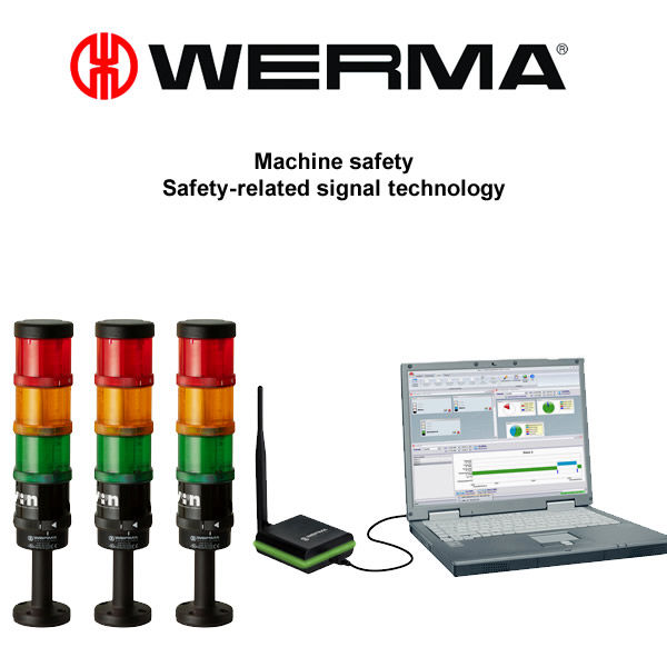 WERMA signal technology is one of the worldwide leading companies producing visual and acoustic signalling devices.